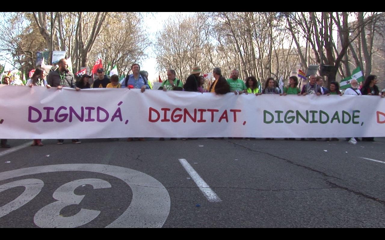 CONTESTACIÓN SOCIAL. MAREAS Y MARCHAS DE LA DIGNIDAD